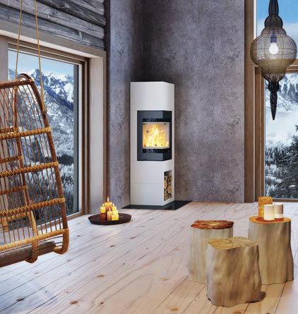 Nordpeis S-31A 6kW Woodburning Fire Ecodesign Ready 2022