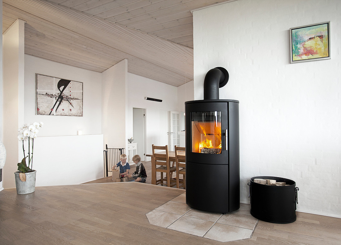 Heta Scan-Line 800 6kW Woodburning Stove