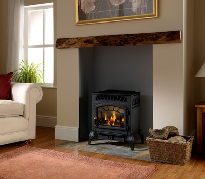 Burley Ambience Flueless LPG Gas Fire