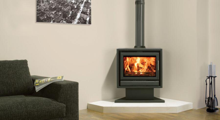 Stovax Riva F66 Pedestal Woodburning & Multifuel Stove