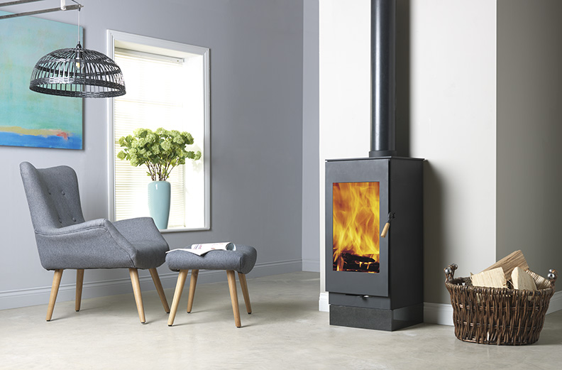 Burley Firecube Carlby Model 9307 7kw Wood Stove