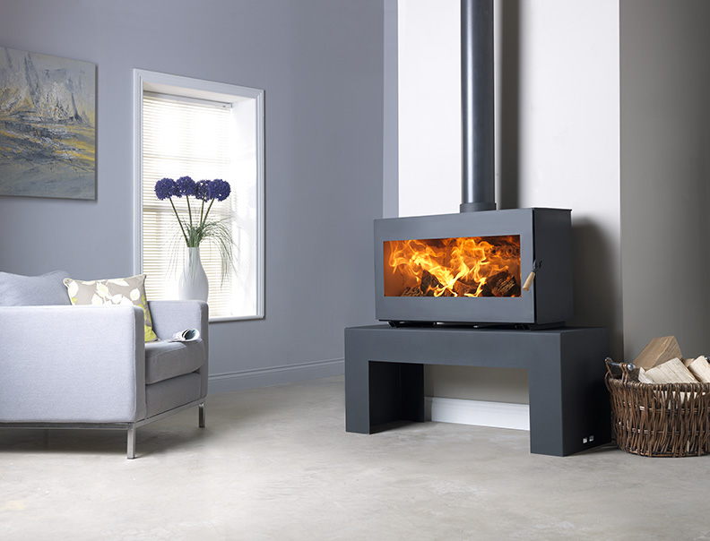 Burley Westhay Panoramic Wood Burning Stove