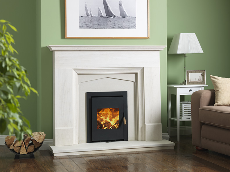 Burley Coppice Model 9050 5kw Inset Wood Stove