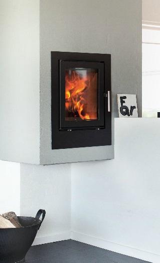 Heta Scan-Line 550 5kW Inset Woodburning Stove