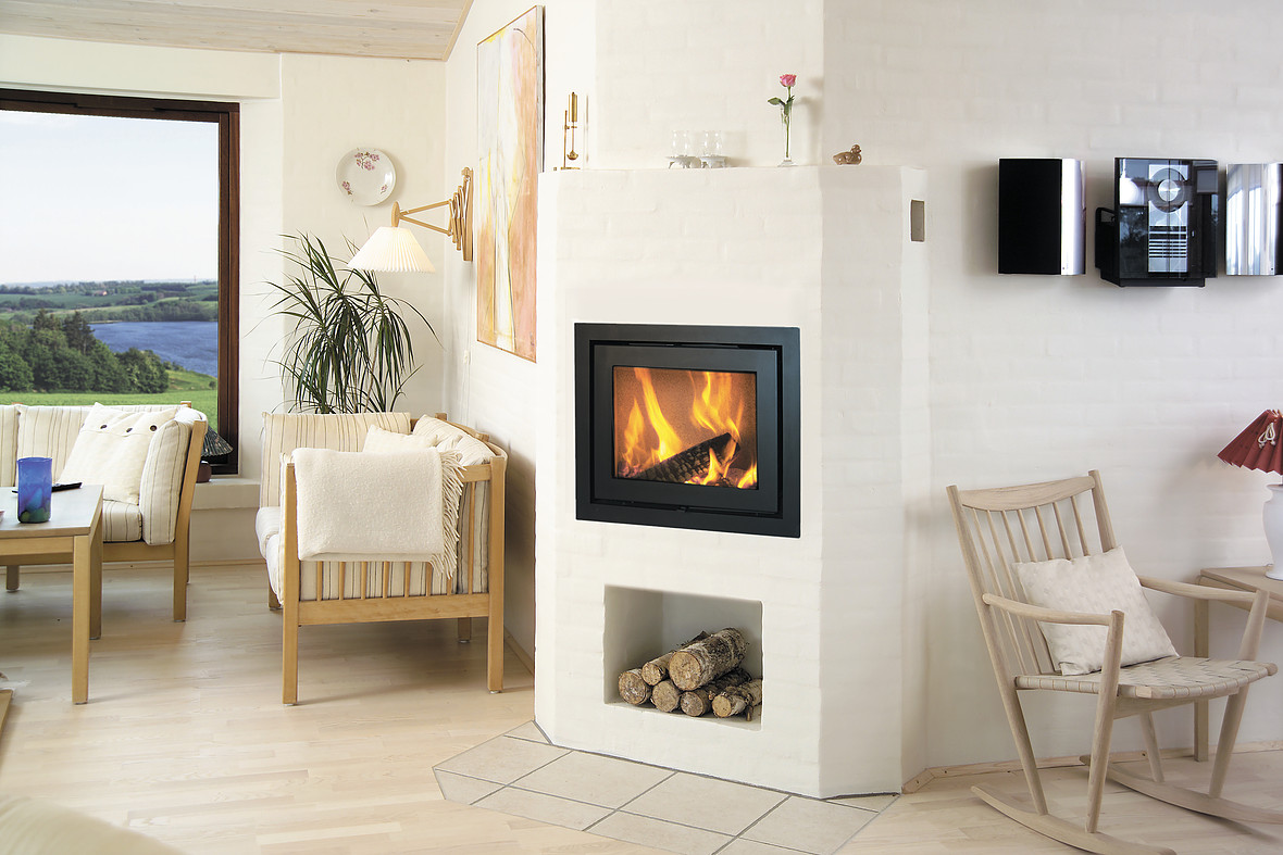Heta Scan-Line Classic 1 7kW Inset Woodburning Stove