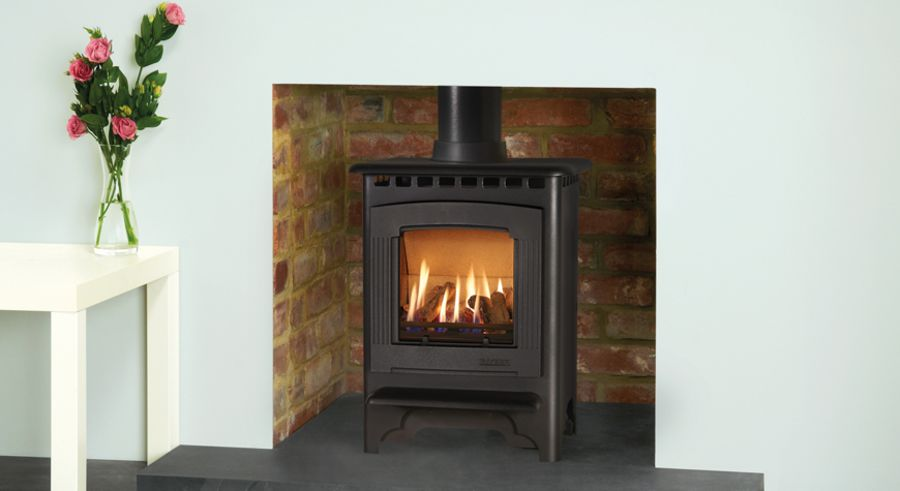 Gazco Marlborough2 Gas Fire is available in Small or Medium Models