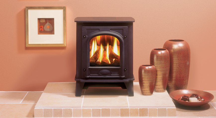 Gazco Stockon Gas Stove - Small (3.60kw) & Medium (5.28kw)