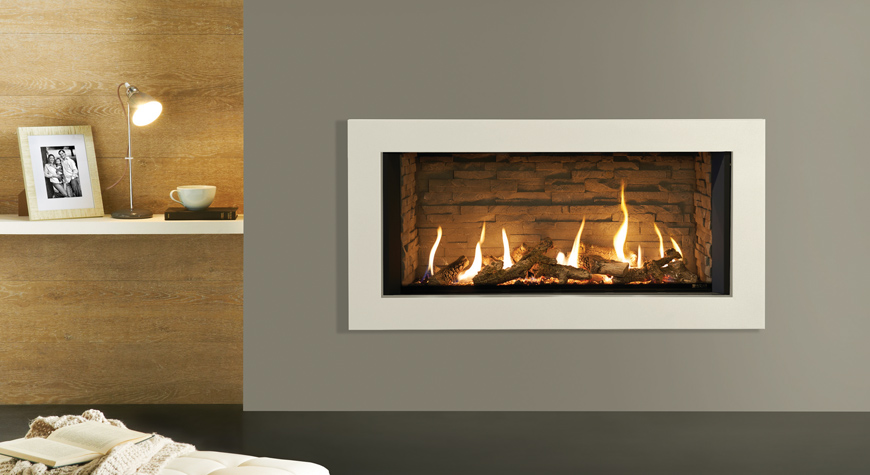 Gazco Eclipse 100 Expression 9.35kW Gas Fire