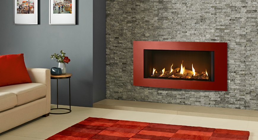Gazco Eclipse 100 Verve XS 9.35kW Gas Fire