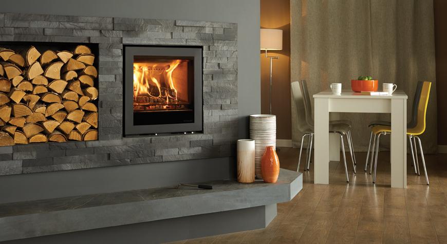 Stovax Elise Edge Woodburning & Multifuel Inset Fires
