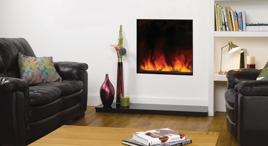 Gazco Riva2 55 1kW Electric Inset Fire