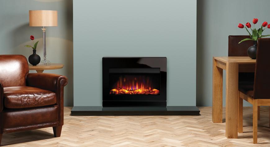 Gazco Riva2 670 2kW Electric Designio2 Glass Fires