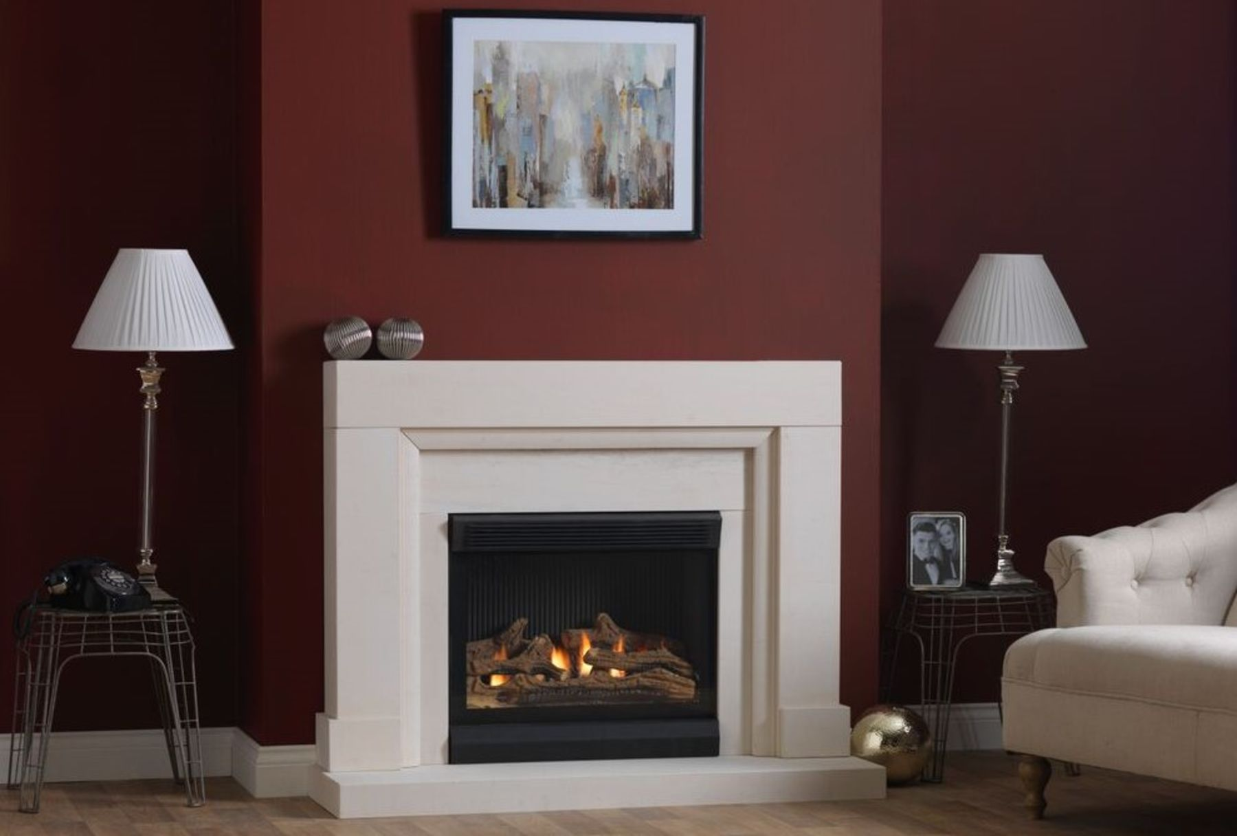 Burley Flueless Gas Watersmeet Suite