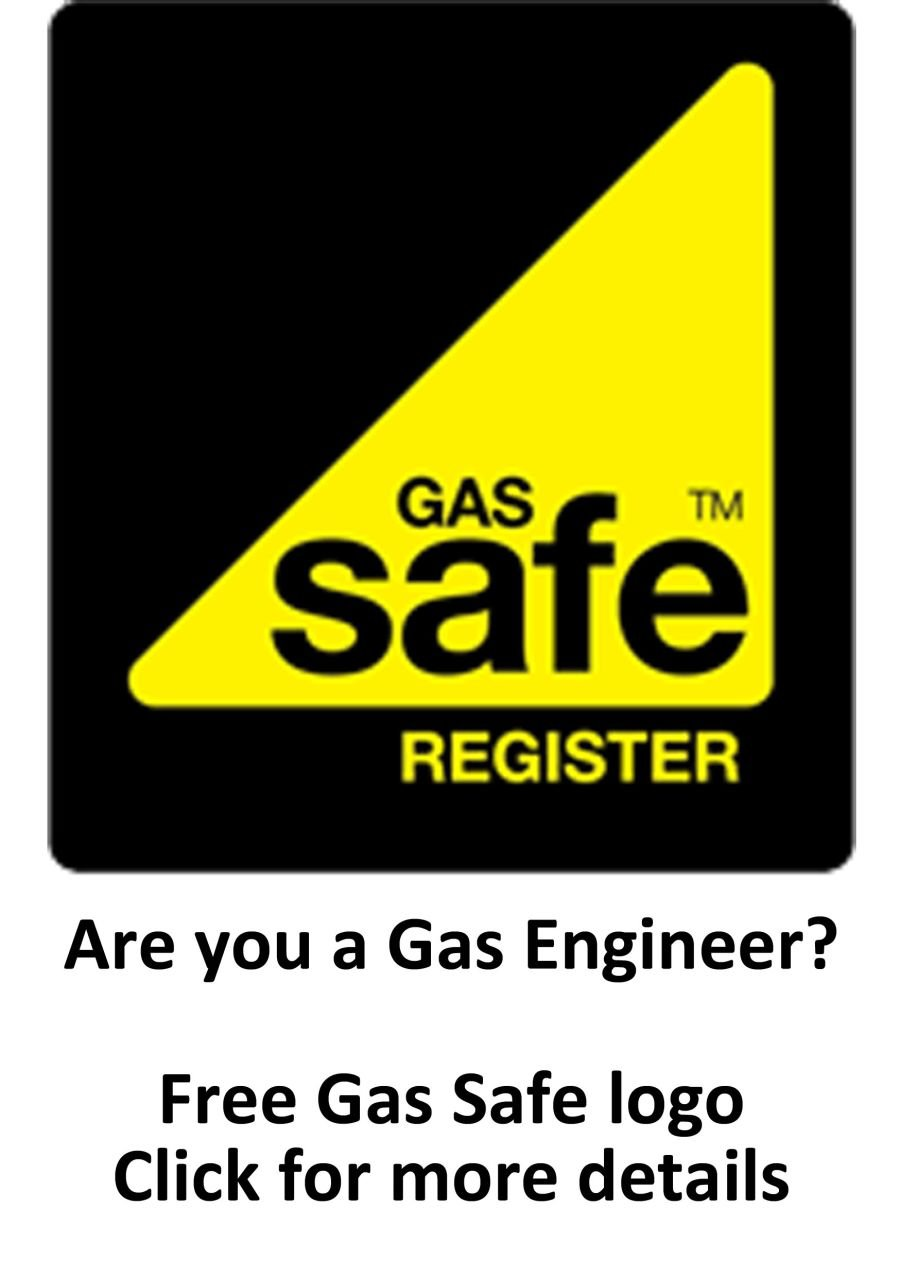 FREE GAS SAFE LOGO -  Embroidery Unit