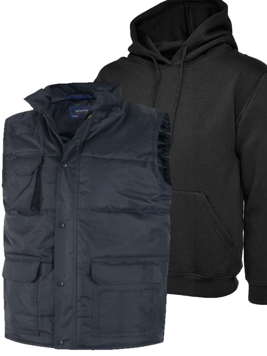 Body Warmer and Hoodie Package