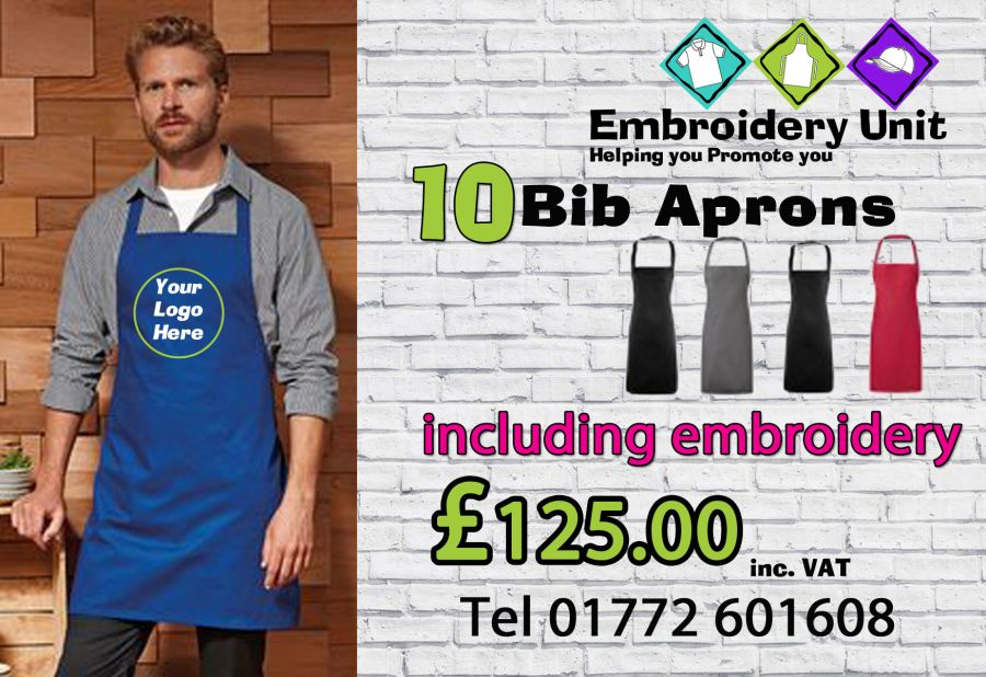 10 Apron Package