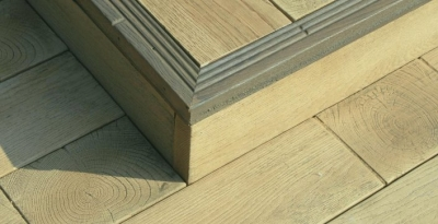 Millboard facia vintage oak