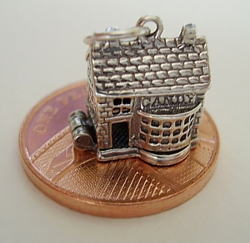 Candy Sweet Shop Sterling Silver Charm