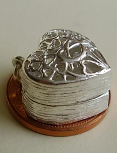 Ring Box Sterling Silver Charm
