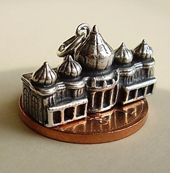 Brighton Pavillion Sterling Silver Charm