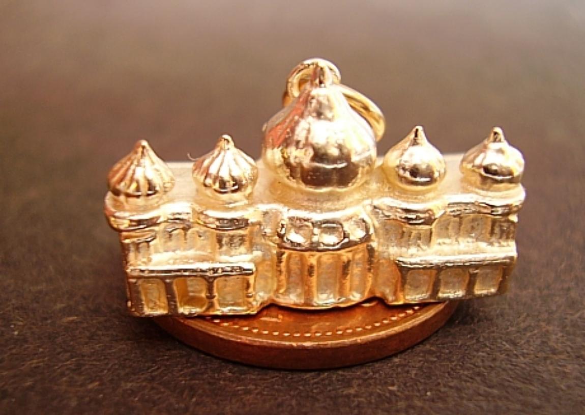 9ct Gold Brighton Pavillion Charm