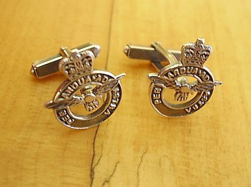 .925 Sterling Silver RAF Royal Air Force Cufflinks