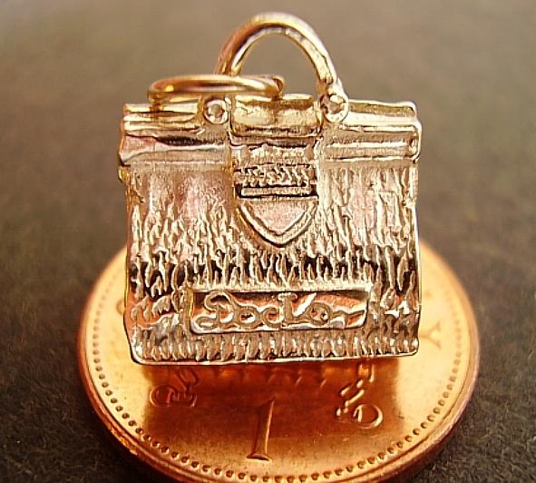 Gold Doctors Bag 9ct Charm