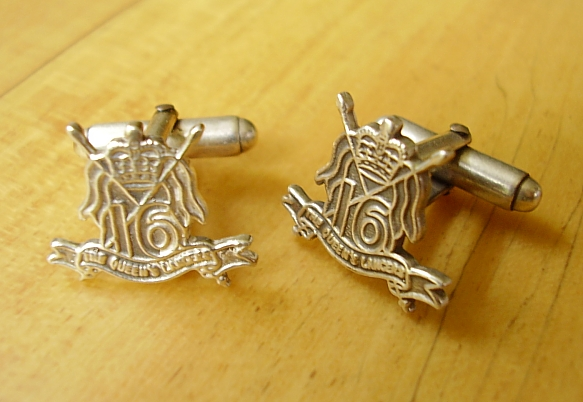 The 16th Royal Queens Lancers Cufflinks