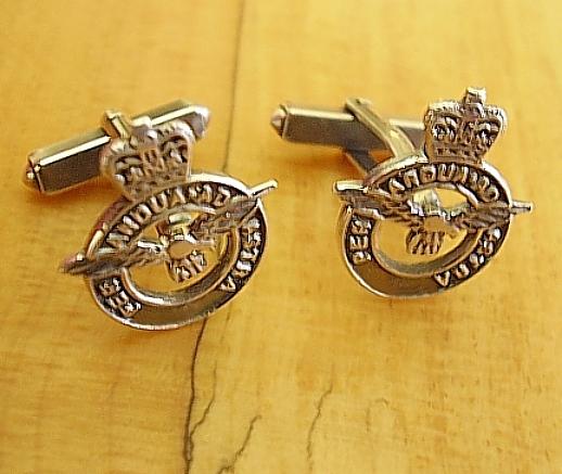 Royal Air Force Silver Cufflinks