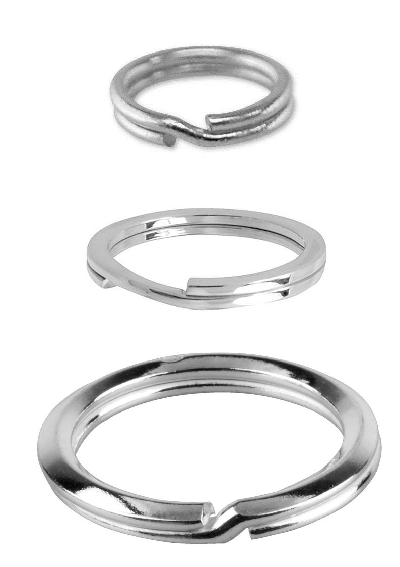 Split / Key Rings For Charm Bracelets