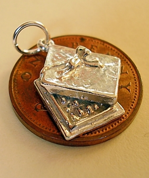 Christmas Chocolate Box Sterling Silver Charms