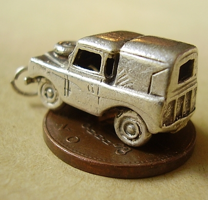 Land Rover Car Sterling Silver Charm