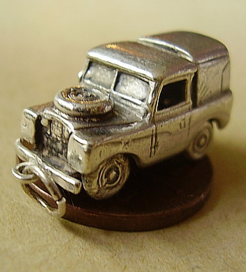 Land Rover Sterling Silver Charm