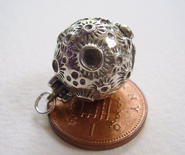 Moon Sterling Silver Charm