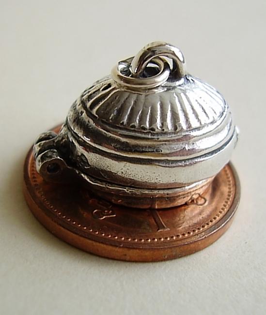 Wild Boar Platter Sterling Silver Charm