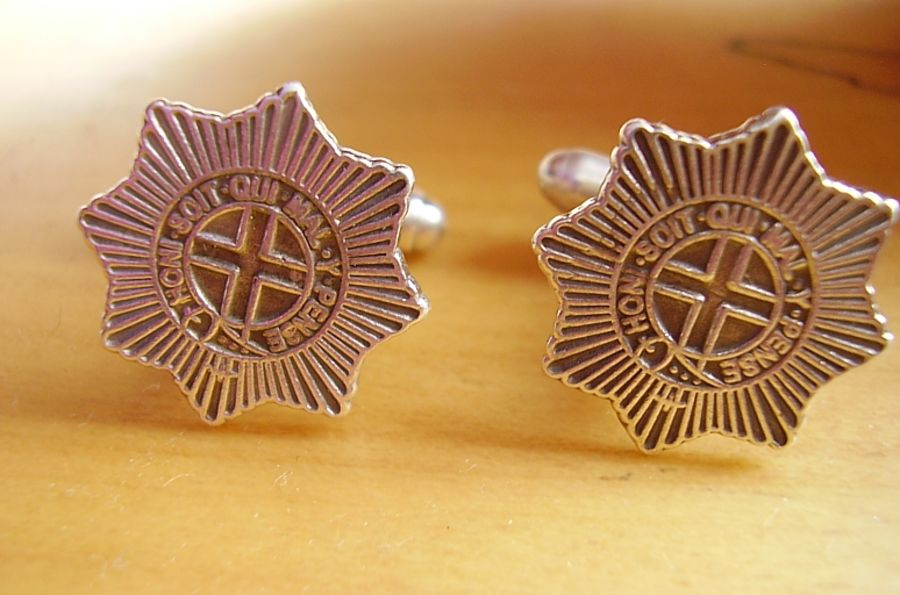 Sterling Silver Coldstream Guards Cufflinks