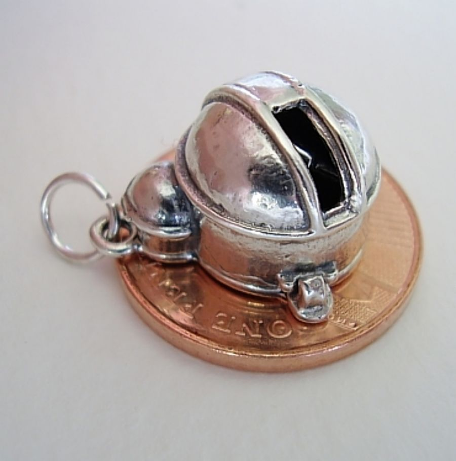 Sterling Silver Observatory Charm