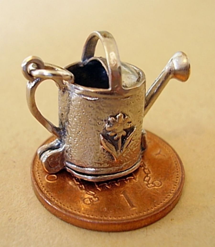 Sterling Silver Watering Can Charm
