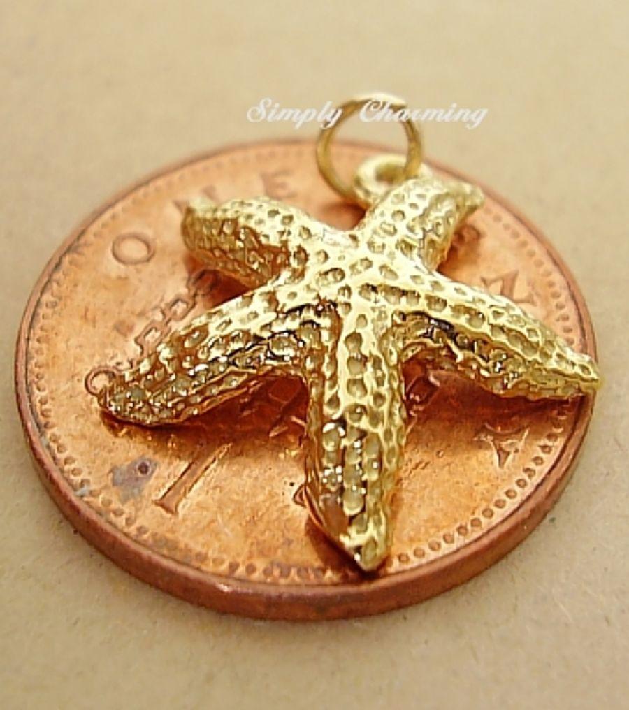 Starfish 9ct Yellow Gold Charm