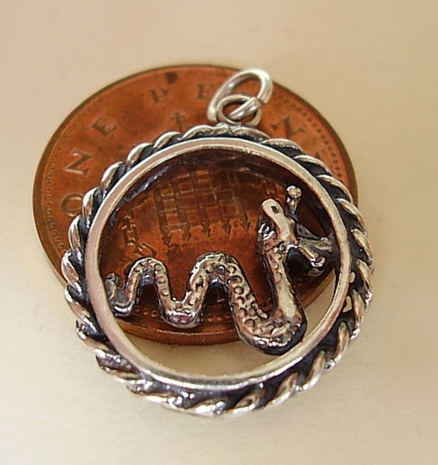 Nessie Sterling Silver Charm