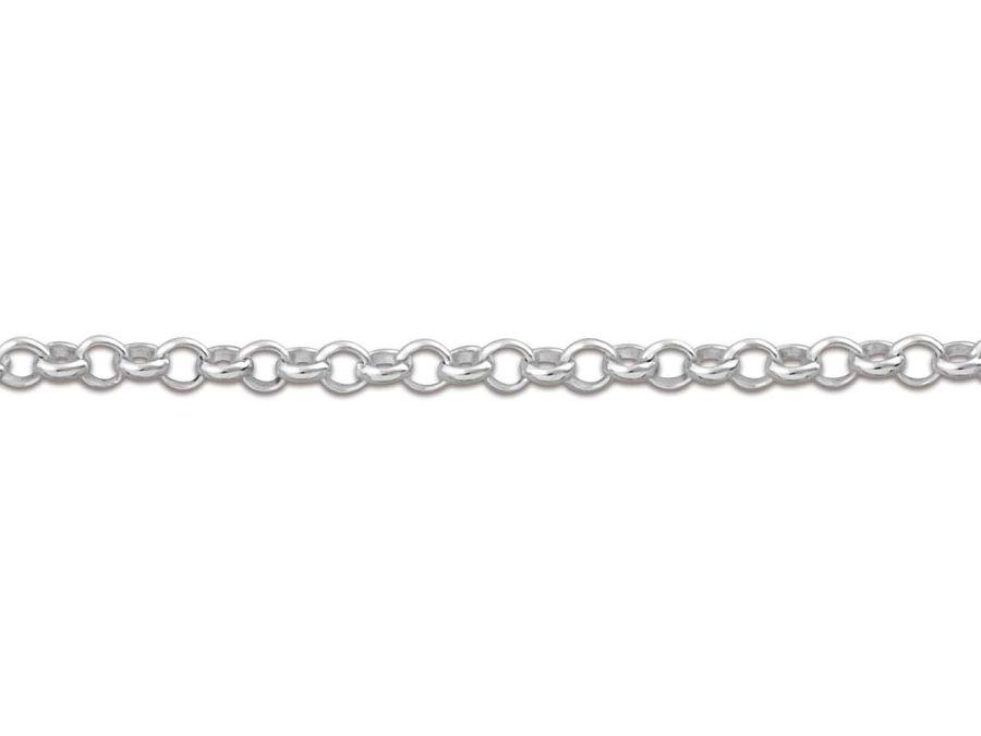 Sterling Silver 1.4mm Belcher Chain