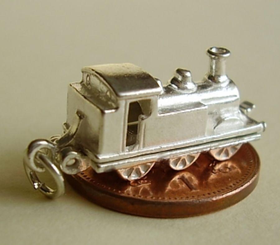Steam Train Charm