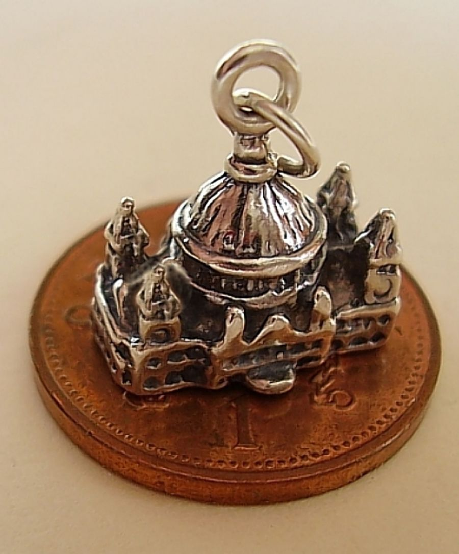 Sterling Silver St Pauls Cathedral Charm
