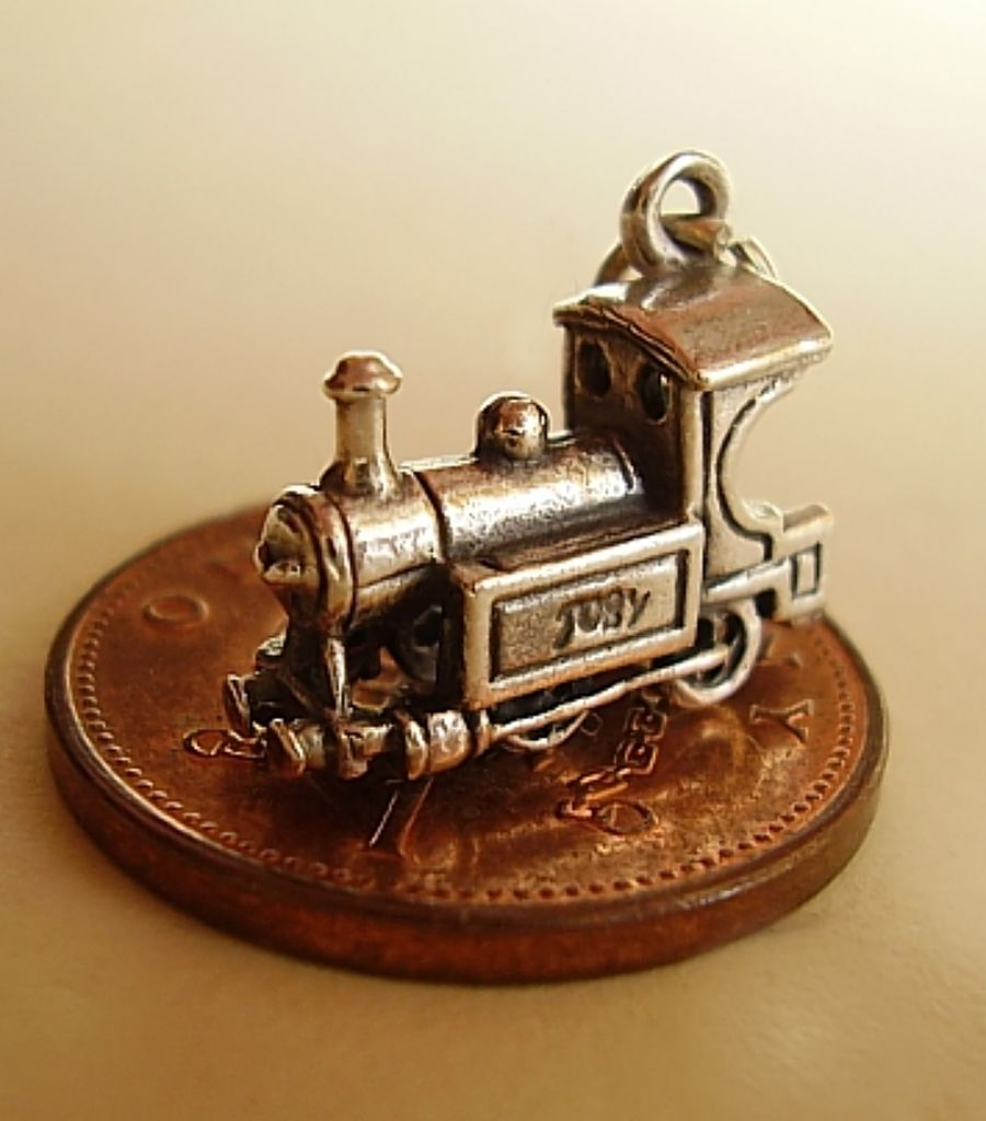 Locomotive Charm