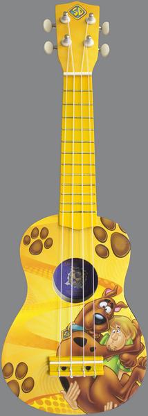 Scooby Doo ukulele