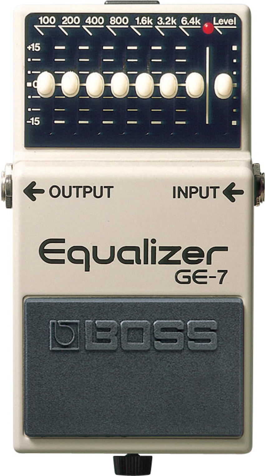 Boss GE-7 - 7 and Graphic EQ