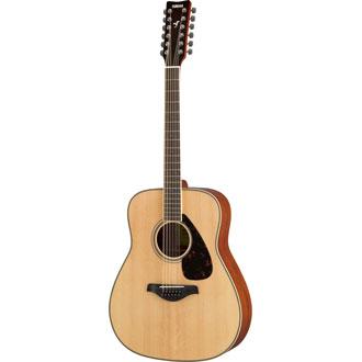 Yamaha FG82012 Acoustic Guitar Natural Finish