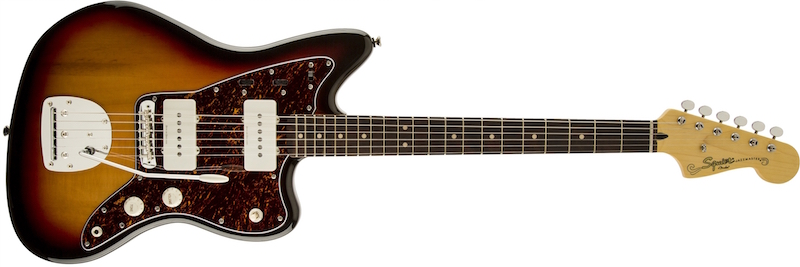 Squier Vintage Modified Jazzmaster in 3 Colour Sunburst