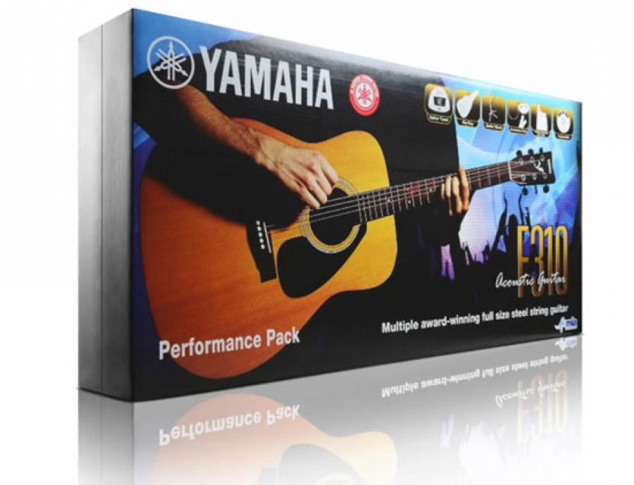 Yamaha F310 Acoustic Guitar Deluxe Pack