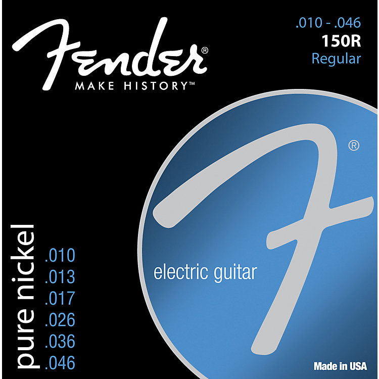 Fender 150R Pure Nickel Ball End 10-46